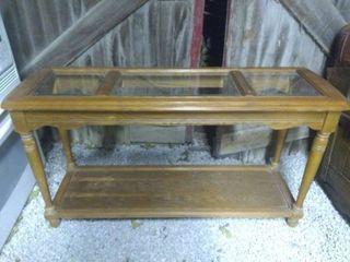Wooden Runner Table