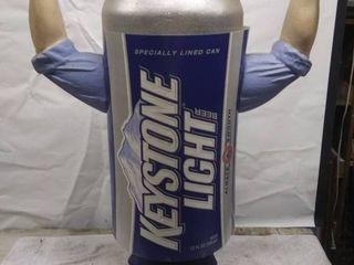 Keystone light Beer Can Man Advertisement