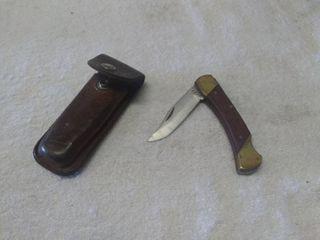 Vintage Schrade Pocket Knife and Case