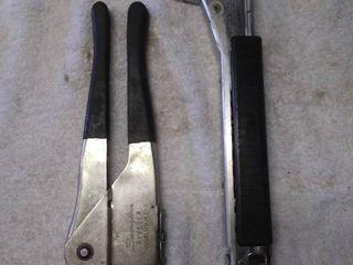Vintage Hammer Stapler and Riveter