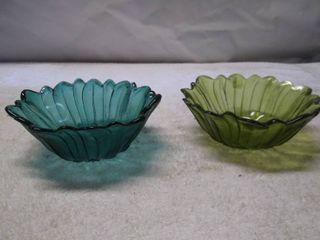 2 Vintage Candy Dishes