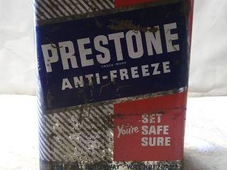 Vintage Prestone Anti Freeze Can