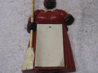 Vintage Wall Hanging Aunt Jemima Note Pad and Pencil