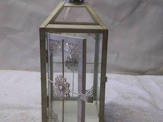 Vintage Glass Candle Hanging lantern