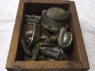 Box of Vintage Car Parts