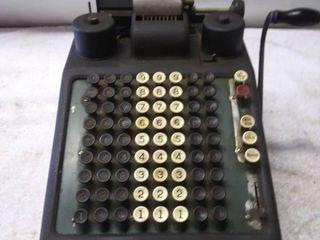 Vintage Burroughs Receipt Printer