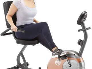 Marcy Recumbent Exercise Bike  ME 709   MIGHT BE MISSING HARDWARE
