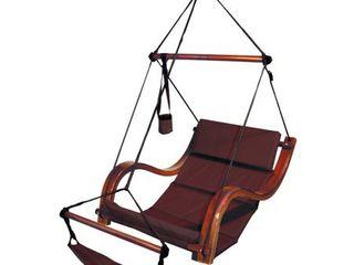 Hammaka Nami Deluxe Hanging Hammock lounger Chair In Burgundy