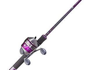 Zebco 33 ladies Spincast Fishing Reel and Rod Combo  Multi Color  33l602M 10C NS4  30
