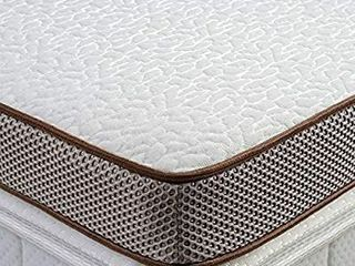 BedStory 2   Memory Foam Mattress Topper with Cooling Gel Bed Padding  Premium Mattress Pad with Removable Soft Cover  Vented Design  and CertiPUR US Certified Foam  Queen Size