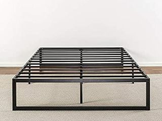 Zinus Abel 14 Inch Metal Platform Bed Frame   Mattress Foundation   No Box