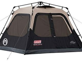 Coleman Cabin Tent with Instant Setup   Cabin Tent for Camping Sets Up in 60 Seconds   USED  UNTESTED UNSURE IF THERE ARE ANY RIPS OR TARES