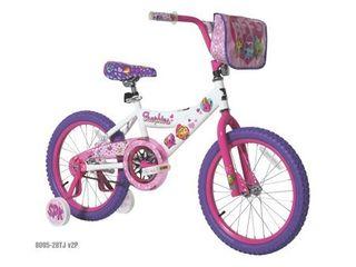18  Shopkins Girls  Bike with Handlebar Bag