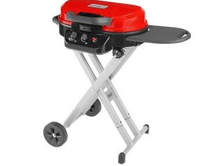 Coleman Gas Grill   Portable Propane Grill   Roadtrip 225 Standup Grill  Red