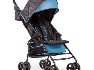 Summer 3Dmini ConvenienceaA Stroller  Blue Black IAA lightweight Infant Stroller with Compact Fold  Multi Position Recline  Canopy with Pop Out Sun Visor and More IAA Umbrella Stroller for Travel and More