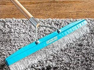 Carlisle 4575100 Commercial Grade Carpet   Cleaning Rake  18 Inch