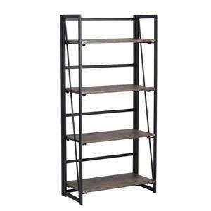 FurnitureR Backer Bookcase with 4 shelves