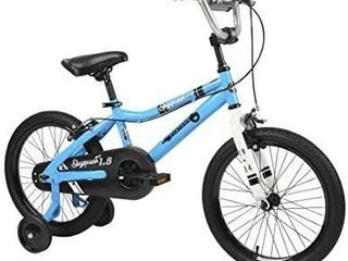 Duzy Customs 18  Blue Kids Bike with Five Minute Quick Assembly   ACTUAl COlOR DIFFERS SlIGHTlY FROM STOCK PHOTO