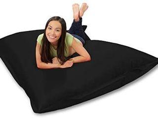 Huge Bean Bag Pillow for Playing Video Games   Watching TV  Black