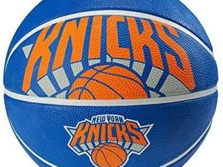 Spalding NBA New York Knicks Courtside Rubber Basketball