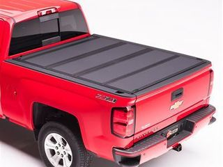 BAK Industries 448307 BAKFlip MX4 Hard Folding Truck Bed Cover  Matte Finish