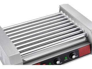 9 Roller Hot Dog Grilling Machine   TESTED