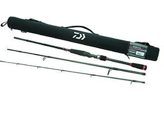 Daiwa Ardito TR 7 6  Medium light  X Fast Action Spinning Rod w  Travel Case   ARDT763MlXS TR