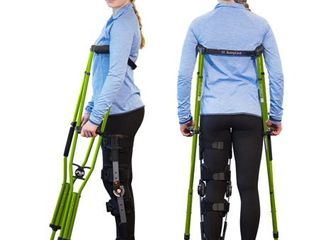 SportSwings   Recommended by Sports Medicine Doctors for Quickest Recovery from a Sports Injury  Alternative to Traditional Crutches  Heavy Duty  Ergonomic Design  FSA HSA Eligible size small  fits users 4 6 5 2