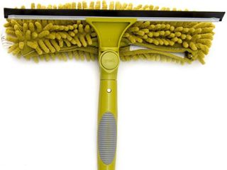 Docazoo Docapole Window Squeegee   Scrubber Combo One Button   Single Pivot