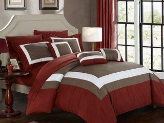 Chic Home Duke 10 Pc King Comforter Set Bedding