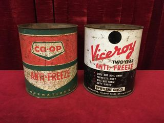 Co op   Viceroy 1 Gal Anti Freeze Cans