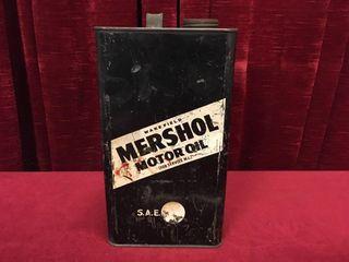Wakefield Mershol 1 Gallon Oil Can