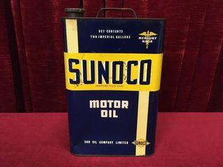 Sunoco 2 Gallon Oil Can