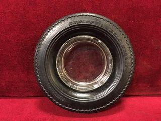 Dunlop 6  Rubber Tire Ashtray