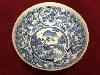 Floral Design 7  Pottery Bowl   Japan