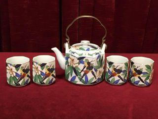 Takahashi San Francisco Tropicale 5pc Tea Set