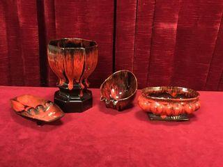 4 Evangeline Pottery Pieces