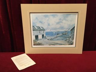 Marie Spence Bates Fishery 12 300 Print