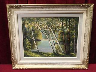 Dorris Gardiner Original Oil on Board
