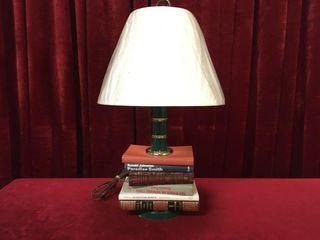 Vintage Book 24  lamp