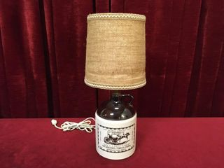 l A  Shiply s Crock Jug 19  lamp