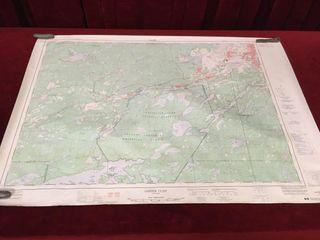 Copper Cliff Ontario Topographic Map 36  x 25 5