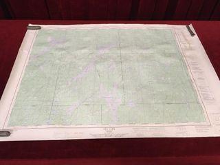 Oba lake Ontario Topographic Map 36  x 25 5