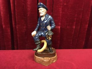 14 5  Ceramic Captain Figure w  Stand