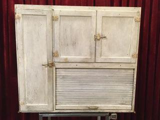 Antique Hoosier Cabinet Upper Unit