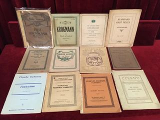 12 Antique   Vintage Song   Piano Books