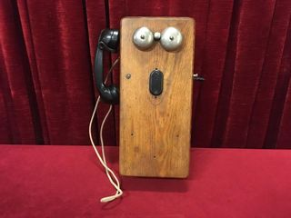 The Dean Electric Co Wall Mount Crank Telephone