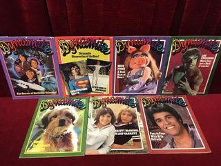 7 Dynamite Magazines 1978   1980