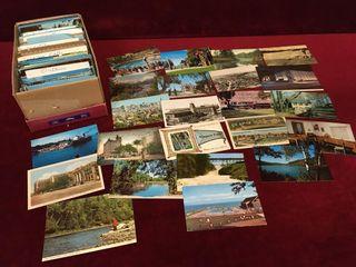 Various Vintage Canadian Postcards