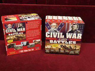 Civil War Battles VHS Box Set